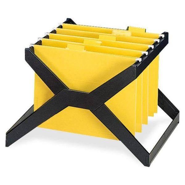 Deflect-o Desktop Hanging File X-Rack
