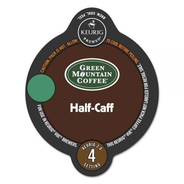 Green Mountain Coffee Roasters Half-Caff Vue Pack