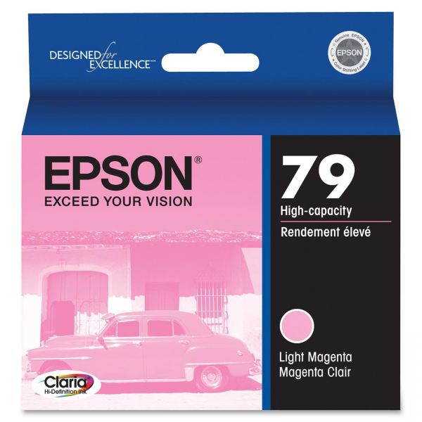 Epson 79 Light Magenta High-Capacity Ink Cartridge