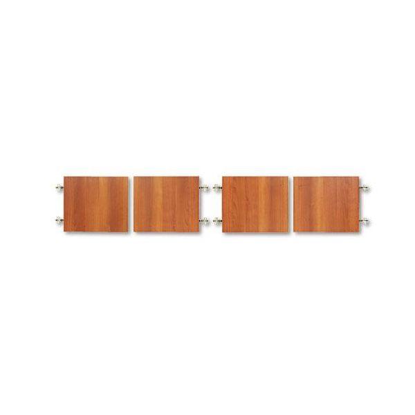 "Global Adaptabilities Hutch Bookcase Doors For 72"" Wide Hutch, 17-3/4 x 15, Honey"