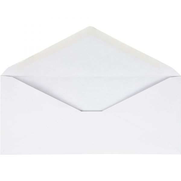 Business Source No. 10 V-Flap Envelopes