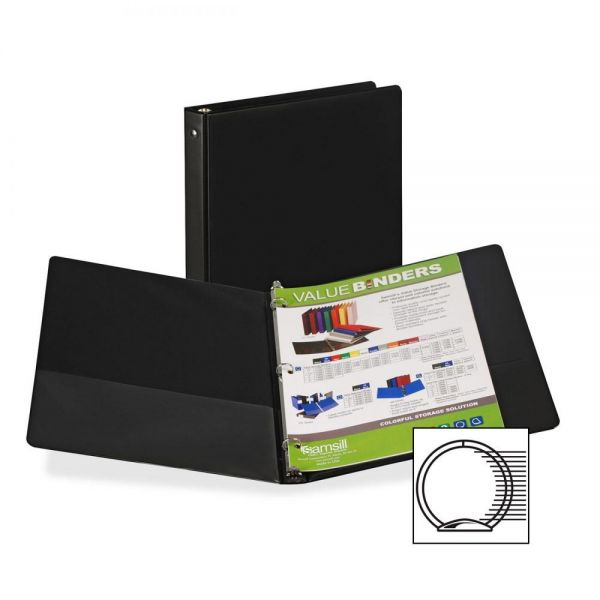 "Samsill Suede Embossed 1/2"" 3-Ring Binder"