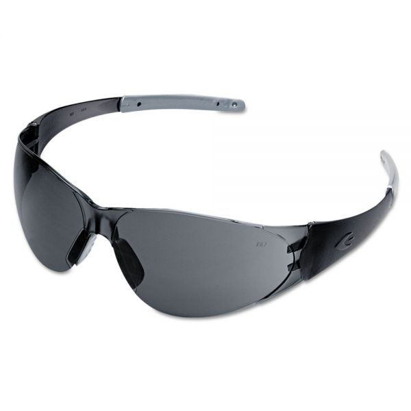 Crews CK2 Series Safety Glasses, Gray