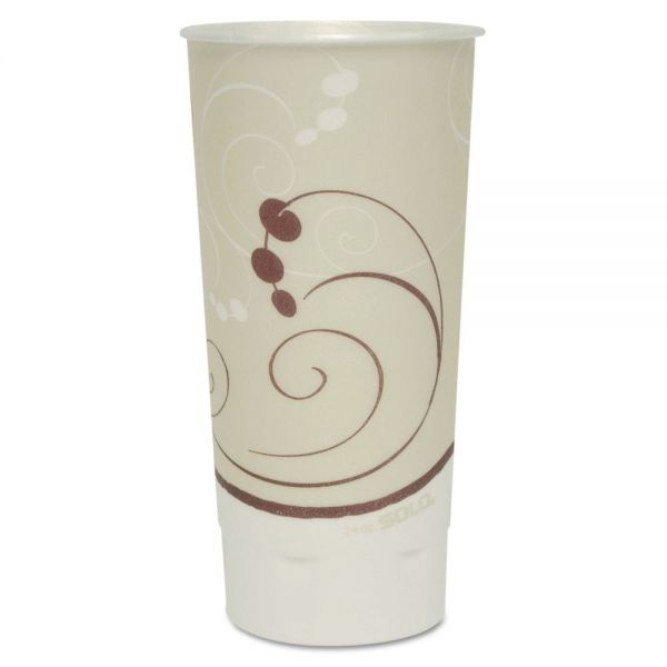 SOLO Dual Temperature 24 oz Foam Coffee Cups