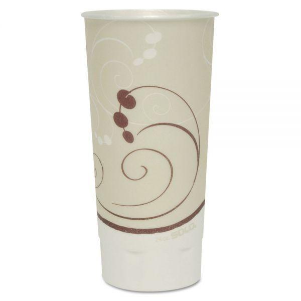 SOLO Dual Temperature 24 oz Foam Coffee Cups