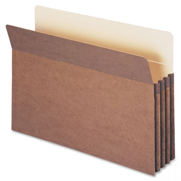 Smead TUFF Pocket Redrope Expanding File Pockets