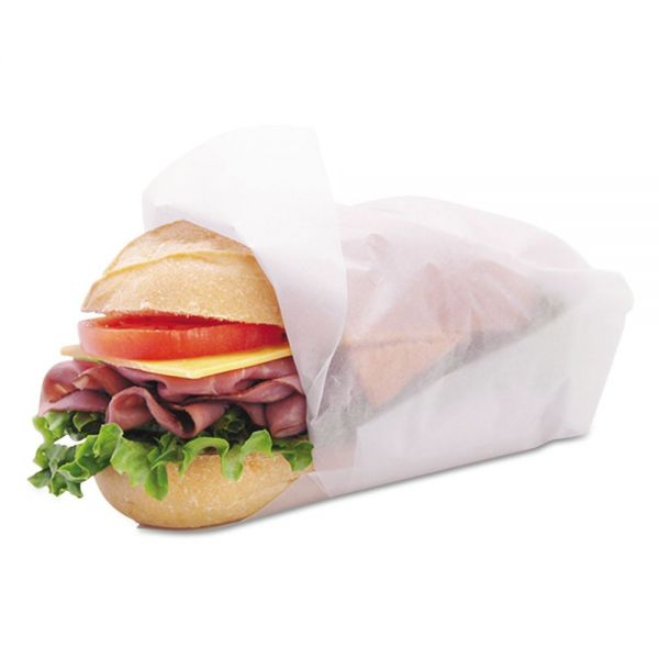 Marcal Heavyweight Dry Waxed Basket Liner/Sandwich Wrap Paper