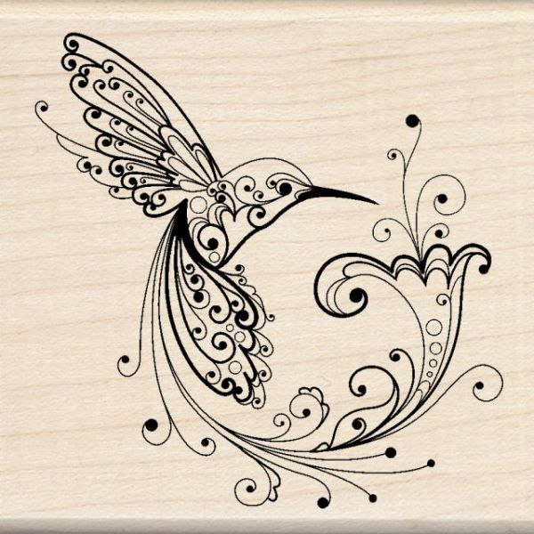 "Inkadinkado Mounted Rubber Stamp 3""X3"""