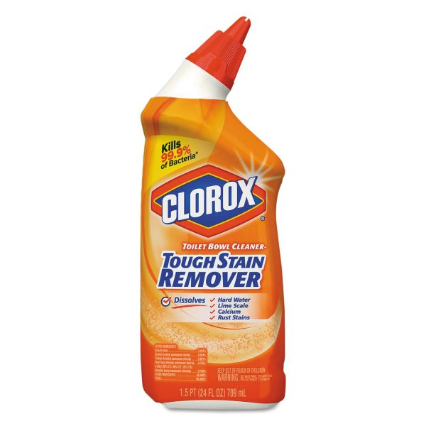Clorox Toilet Bowl Cleaner - Tough Stain Remover