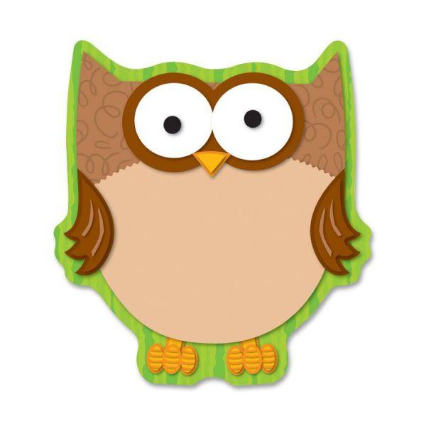 Carson-Dellosa Owl Note Pad