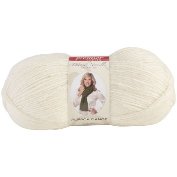 Deborah Norville Collection Alpaca Dance Yarn - Snow White