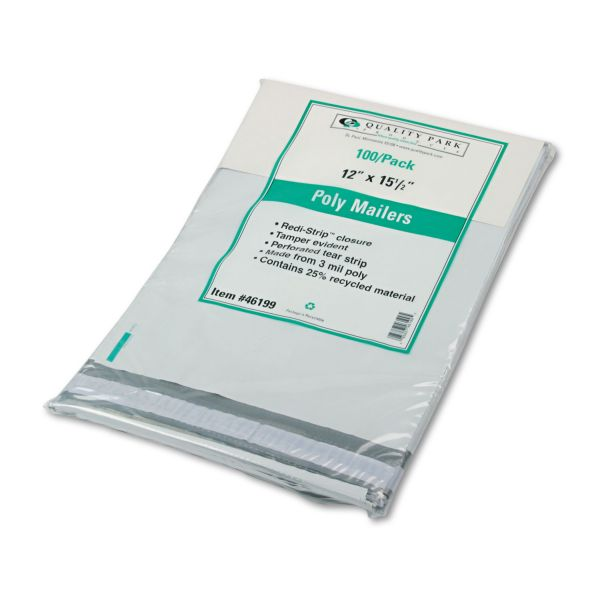 Quality Park Poly Envelopes With Perforation