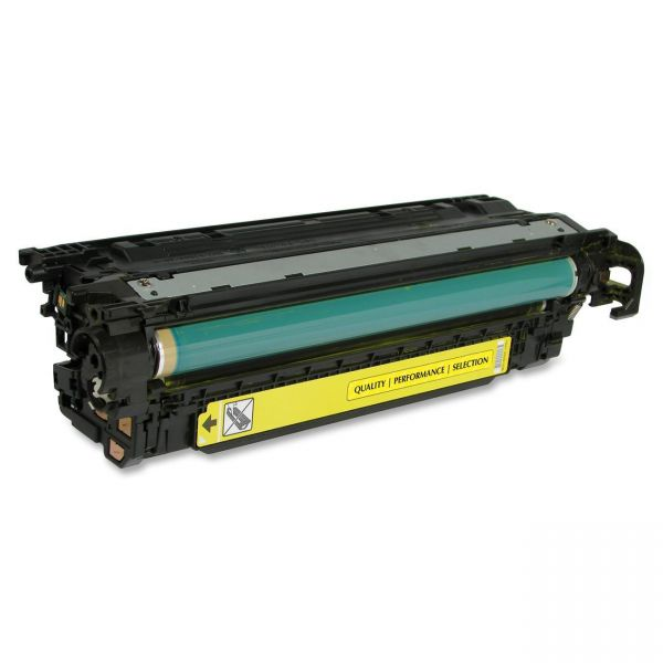 SKILCRAFT Remanufactured HP 504A (CE252A) Yellow Toner Cartridge
