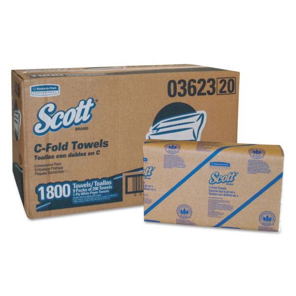 SCOTT C-Fold Paper Towels