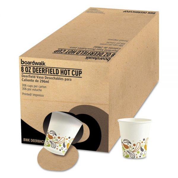 Boardwalk Convenience Pack 8 oz Paper Coffee Cups