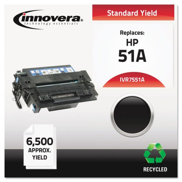 Innovera Remanufactured HP 51A (Q7551A) Toner Cartridge