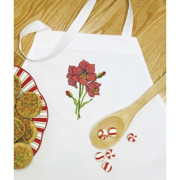 Dimensions Stamped Cross Stitch Apron