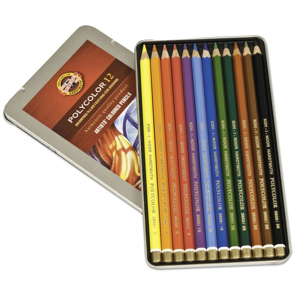 Koh-I-Noor Polycolor Colored Pencils Set