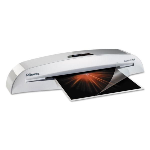 "Fellowes Cosmic 2 125 Laminator, 12"" Wide x 5mil Max Thickness"