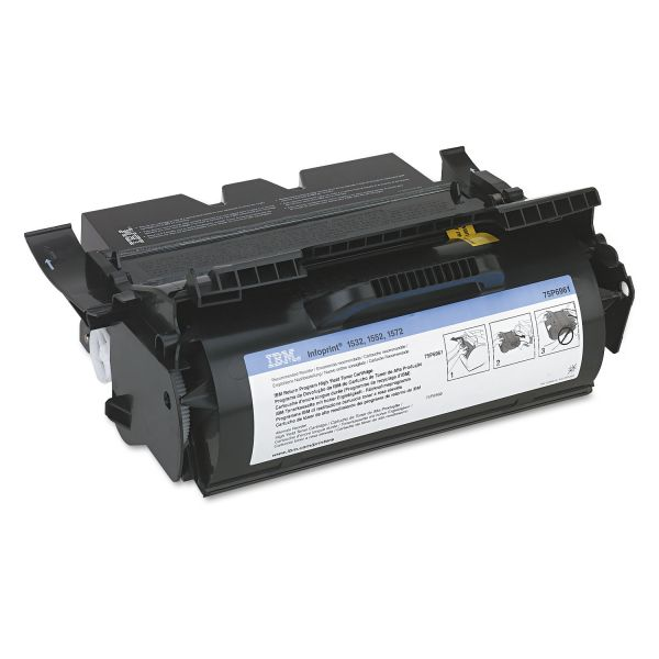 InfoPrint Solutions Company 75P6961 High-Yield Toner, 21000 Page-Yield, Black
