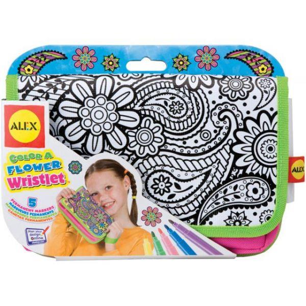 ALEX Toys Color A Flower Wristlet Kit