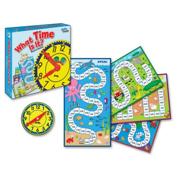 Carson-Dellosa Publishing What Time is It? Board Game, Grades K to 2