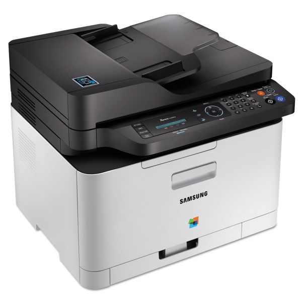 Samsung Xpress C480FW Multifunction Printer, Copy/Fax/Print/Scan