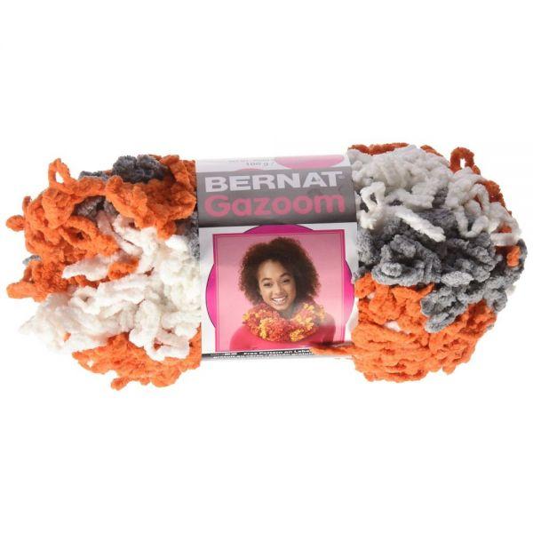 Bernat Gazoom Yarn - Orange Great