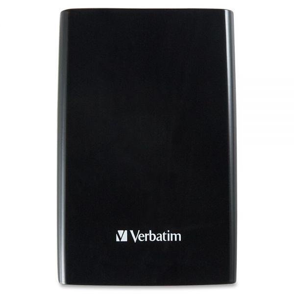 Verbatim 2TB Store 'n' Go Portable Hard Drive, USB 3.0 - Black