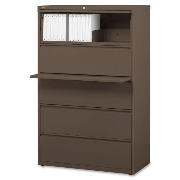 Lorell Fortress Series 5 Drawer Lateral File Cabinet