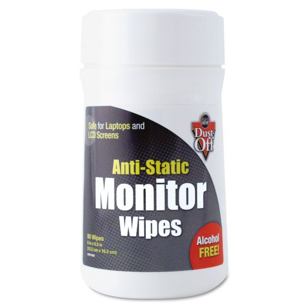 Falcon Anti-Static Monitor Wipes