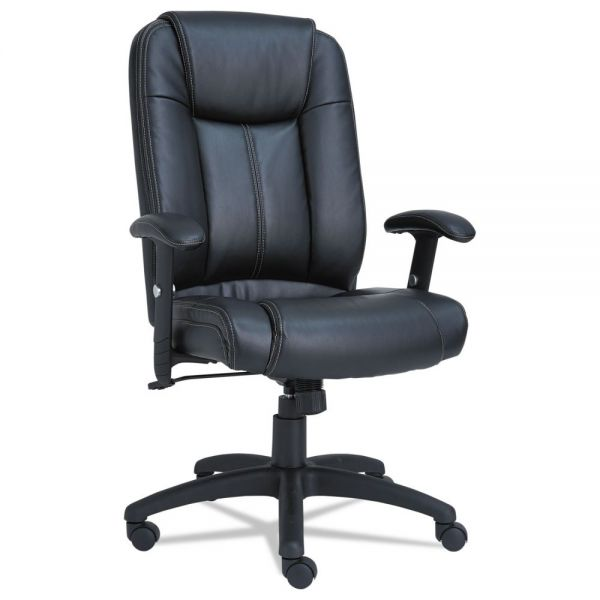 Alera CC Series Executive High-Back Swivel/Tilt Leather Chair