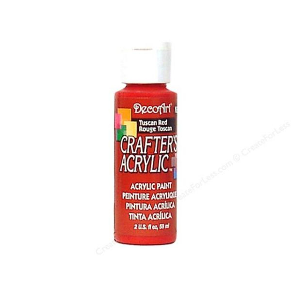 Deco Art Tuscan Red Crafter's Acrylic Paint