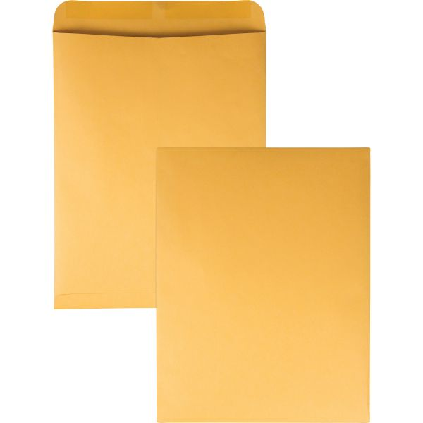 Quality Park Catalog Envelope, 12 x 15 1/2, Brown Kraft, 100/Box