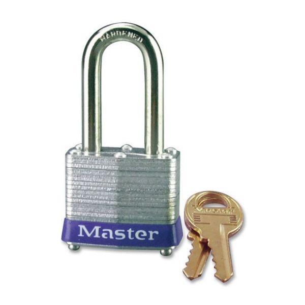 Master Lock Four-Pin Long Shackle Padlock