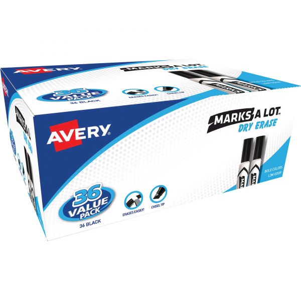 Avery Marks-A-Lot Dry Erase Markers