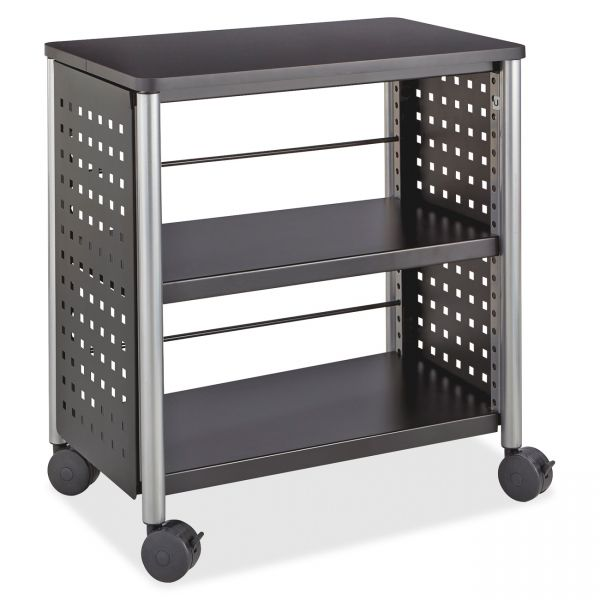Safco Scoot Personal 2-Shelf Metal Bookcase