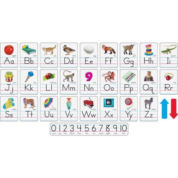 Trend Photo Alphabet Cards Zaner-Bloser Manuscript