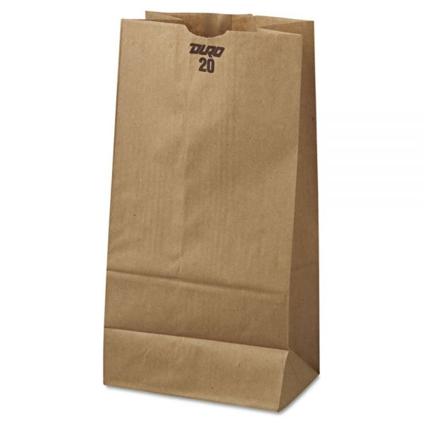 General #20 Brown Paper Grocery Bags