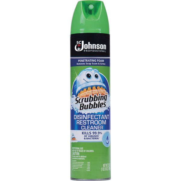 Scrubbing Bubbles Disinfectant Restroom Cleaner