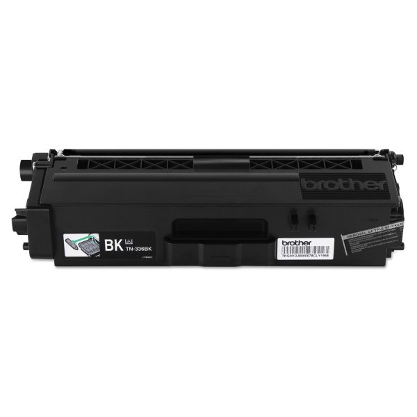 Brother TN-336BK High-Yield Black Toner Cartridge