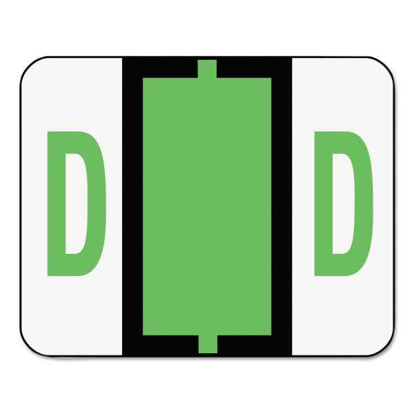 Smead BCCR Bar-Style Color-Coded Alphabetic Label - D
