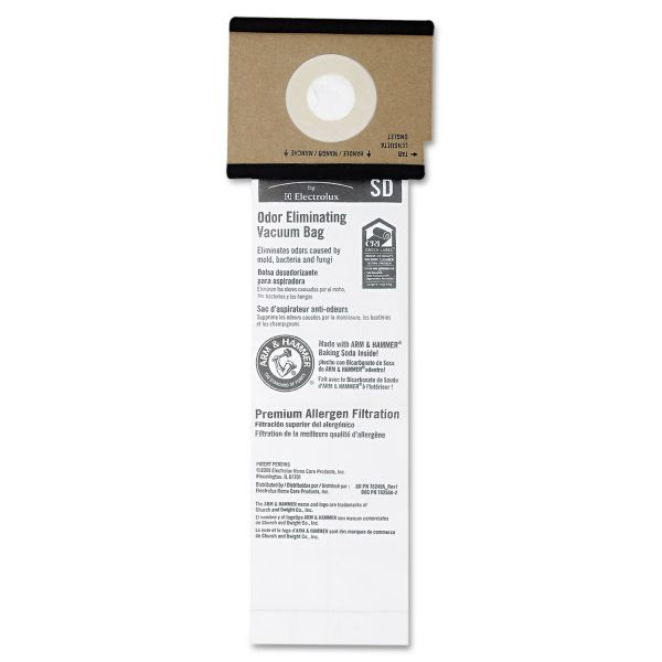 Eureka SD Premium Allergen Vacuum Bags for SC9100 Series, 50/Case