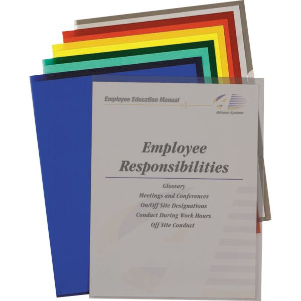 C-line Recycled Colored Project Folders