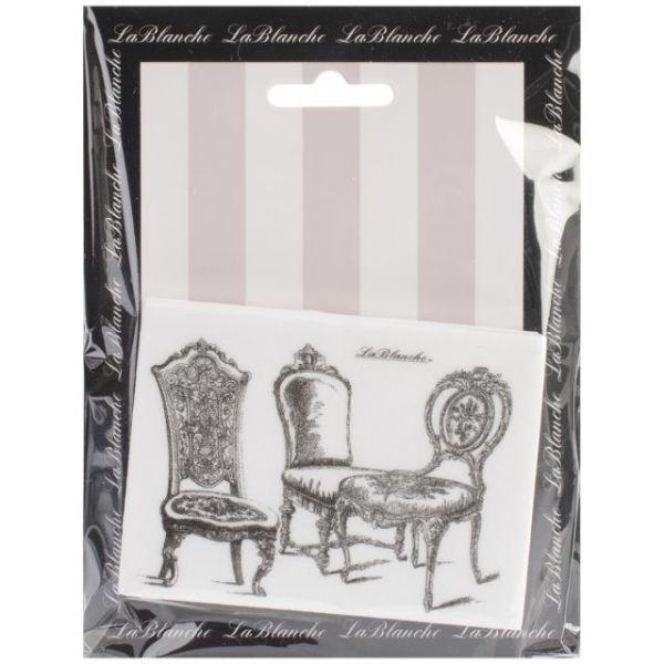 "LaBlanche Silicone Stamp 3.75""X2.75"""
