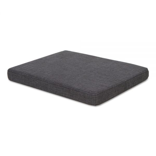 Alera Seat Cushion for File Pedestals, 14 7/8 x 19 1/8 x 2 1/8, Smoke