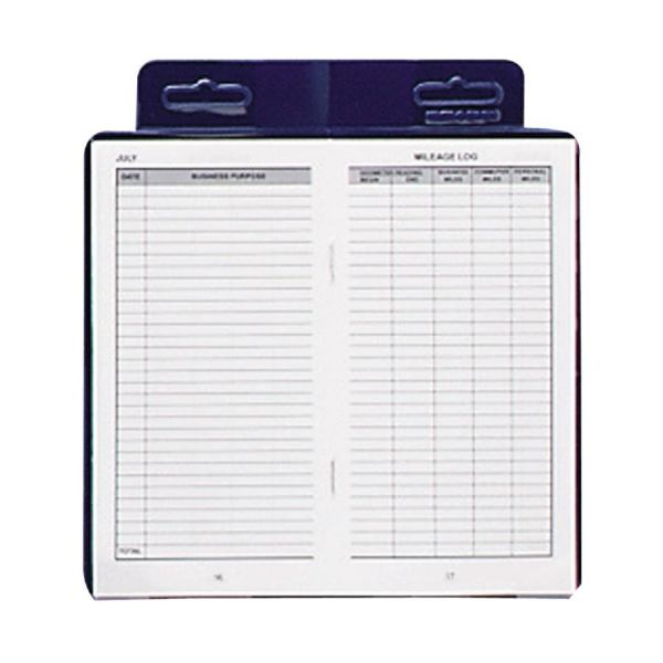 Dome Deluxe Auto Mileage Log Book