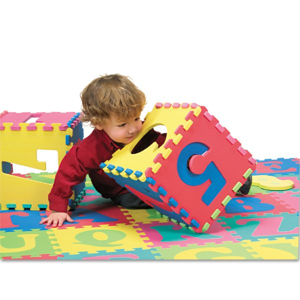 WonderFoam Letters & Numbers Mat