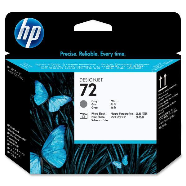 HP 72 Gray/Photo Black Printhead (C9380A)