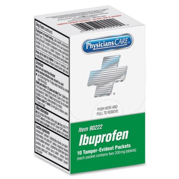 PhysiciansCare Xpress Ibuprofen Packets